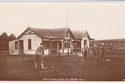 Boat-of-Garten Golf Pavilion Ref.661 C.1920s-30s