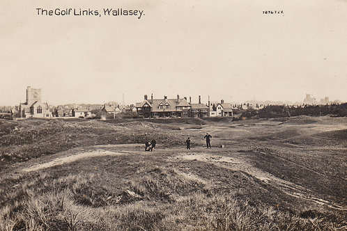 Wallasey Golf Links,Cheshire.Ref 396 C.Early 1900s