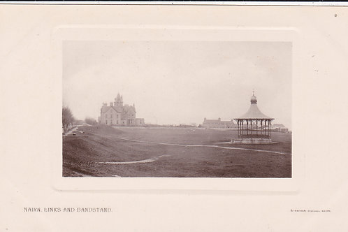 Nairn Links, Golf Hotel & Bandstand Ref.699 C.Ea 1900s
