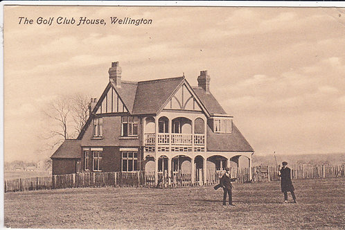 Wellington Golf Club House Ref.1323 C.pre 1914