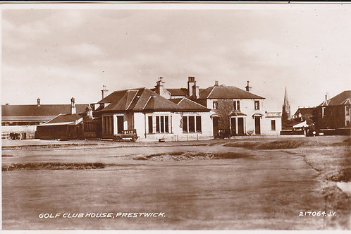 SOLD>Ref.1734.Preswick (Old) Golf House Ref.1734 .1933