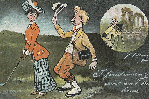 Comic Golf PC Ref.2494 C.1910-20