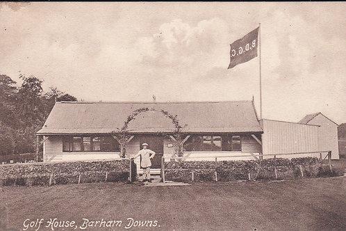 Barnham Downs Golf HouseC.Pre 1914 Ref.1787