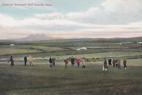 Gartmain Golf Links,Islay  C.Ea 1900 Ref.1818