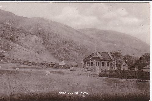 Alva Golf Course Ref 254 C.Ea 1900s