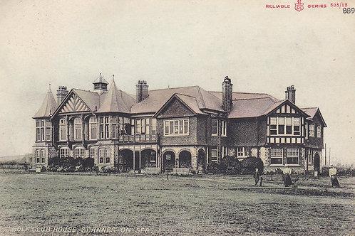 St.Annes-On-Sea Golf Club House.Ref.340. C.1910