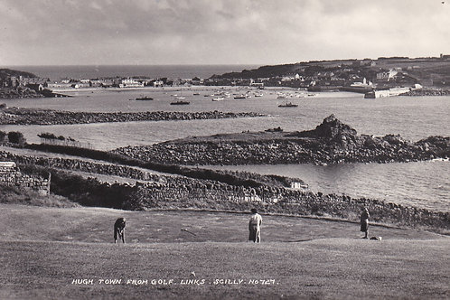 Isles of Scilly Golf Club C.1960 Ref.2049a