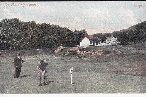 Largs Golf Course & Pavilion Ref.1707 C.1908