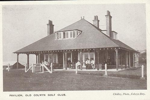 Old Colwyn Golf Pavilion Ref.2715 C.ea1900