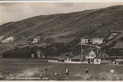 Aberdovey Golf Links 1st Tee Ref.288  C.1925-35