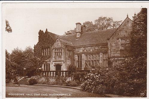 Woodsome Hall Golf Club Ref.1031 C.1928