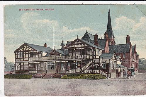 Worsley Golf Club House. Ref 1457 C.1912
