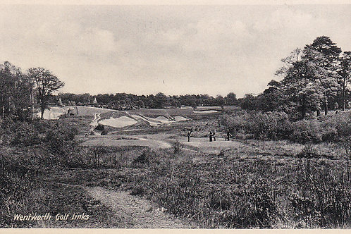 Wentworth Golf Course.Surrey Ref 720.C.1924-35