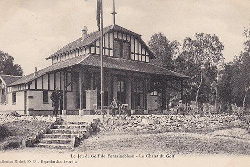 Fontainebleau Golf Chalet C.Ea 1900s Ref.279a