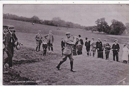 SOLD>Ref.1198.Harry Vardon Driving Off Ref 1198 C.1905-10