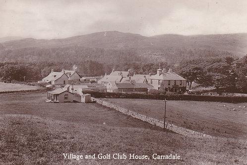 Carradale Golf Links & Club House.Ref 528. C.1940