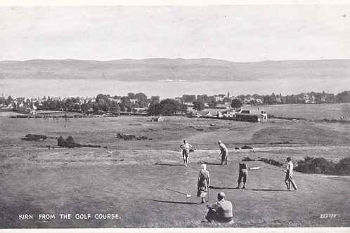 Cowal Golf Links,(Kirn) Dunoon.Ref 908.C.1930s
