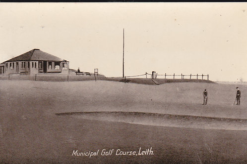 Leith Munucipal Golf Links Ref 1135 C.Early 1900s