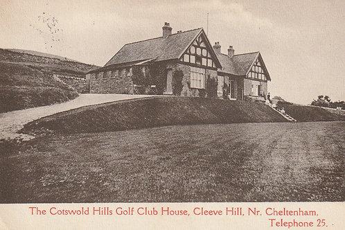 Cotswold Hills Golf Pavilion Ref.2770 C.1913