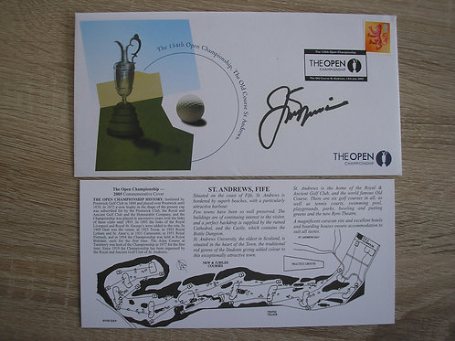 St Andrews 2005 Open Signed FDC Ref.088