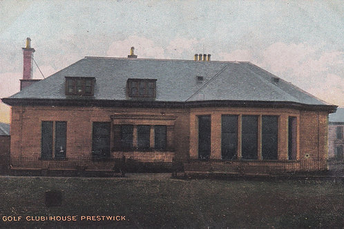 Prestwick (Old) Golf House Ref.1989 C.Ea 1900s
