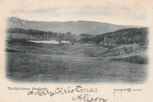 Strathpeffer (Spa) Golf Course Ref.2405