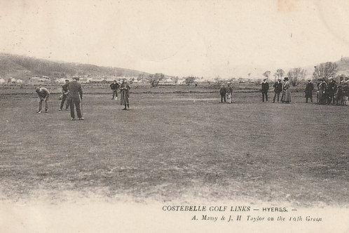 J.H.Taylor v A.Massy Costabelle Ref.2565 C.1905-07