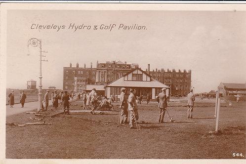 Cleveley's Golf Links & Pavilion Ref.1260 C.1933