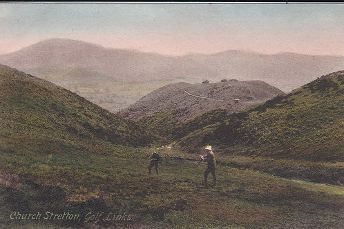 SOLD>Ref.1688. Church Stretton Golf Links C.Pre 1914 Ref.1688