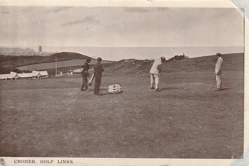 Cromer Golf Links & 18th Tee Ref.2352 C.1912