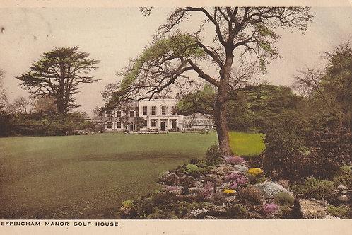 Effingham Golf Club House, N.r Leatherhead Ref.2809 C.pre 1938