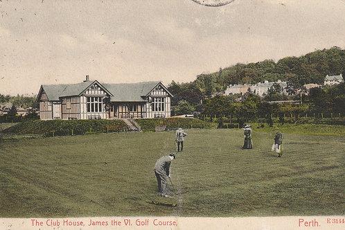 James Vl Golf Club Pavilion Ref.2552 C.pre 1906