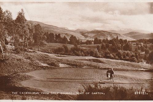 Boat of Garten Golf Course, The Highlands Ref.2610 C.1930s
