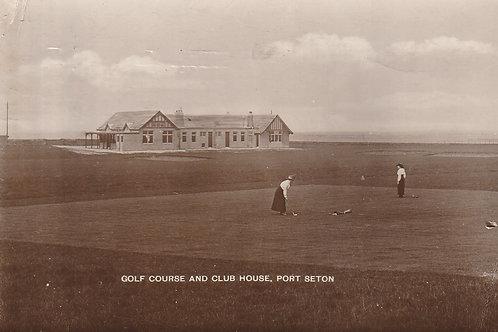 Port Seton Golf Links Ref.2650 C.pre 1914