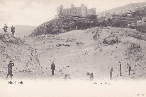 Harlech.On The Links.Ref 815 C.1902-04