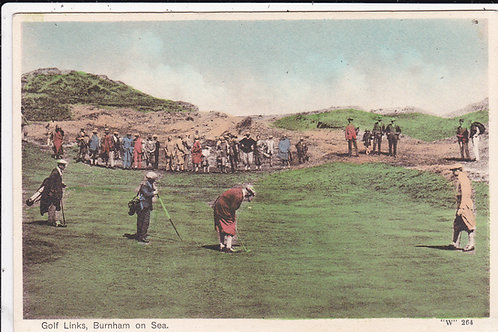"Ted Ray 1912 ""Open"" Champion at Burnham Ref.1535"