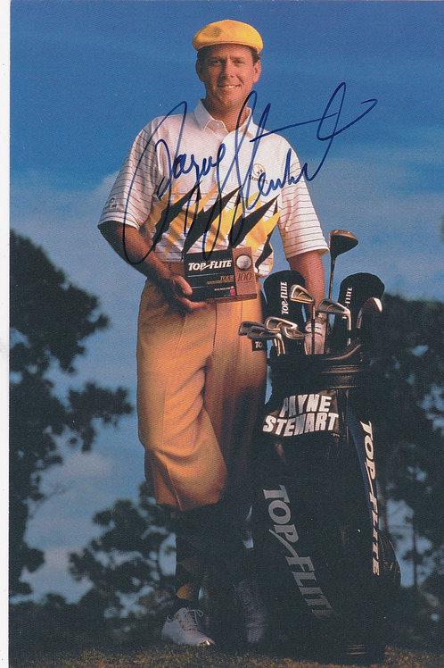 Payne Stewart Signed Trade Card Ref.301