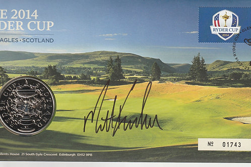 2014 Ryder Cup Matches Comm. Cover/ Medal Ref. RC. 099