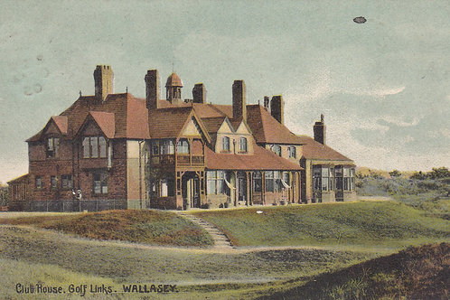 Wallasey Golf Club House/Links,Ref 286 C.1905