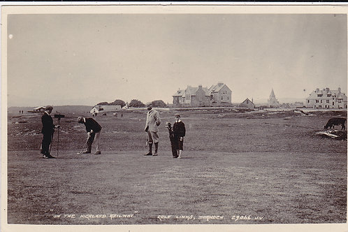SOLD>Ref.526.Dornoch Golf Links.H/Land Railway Ref 526