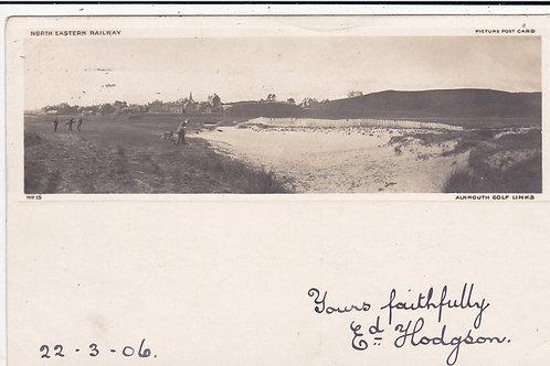 Alnmouth Golf Links C.1903 Ref.595