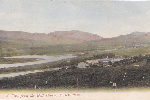 Fort William from the Golf Course C.Pre 1910 Ref.1995