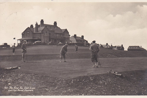 Seascale Golf Links,Cumbria C.1934 Ref.1429a