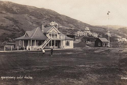 Aberdovey Golf Pavilion & last  Green Ref.1810 C.Ea1900s