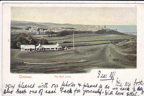 Cromer Golf Links Ref 1016 C.1904