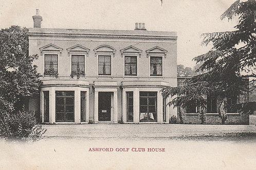 Ashford Golf Club House Ref.2381 C.1905