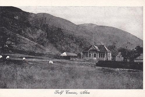 SOLD>Ref.382.Alva Golf Links & Pavilion, C.1900-1920