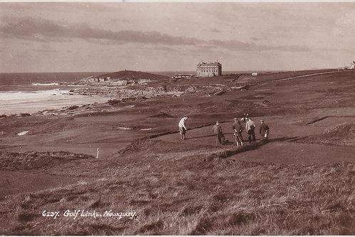 Newquay Golf Links Ref.2248a C.19