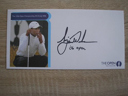 British Open 2006 Hoylake Signed Cover Ref.091