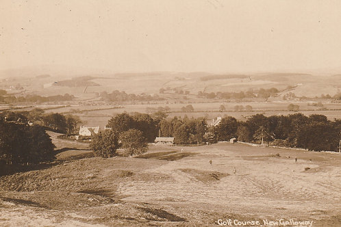New Galloway Golf Course Ref.2364 C.Ea 1900s